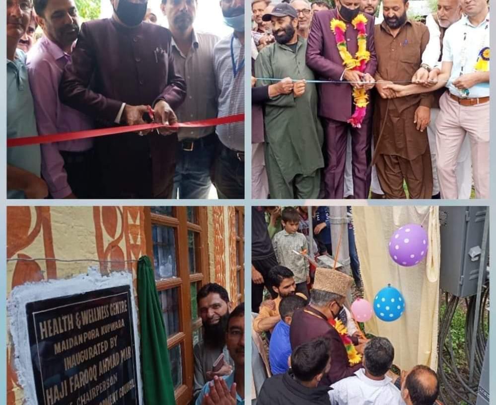 Vice Chairman DDC Kupwara Haji Farooq Ahmad Mir Inagurated Various Projects & Institutions in Different Areas of Lolab