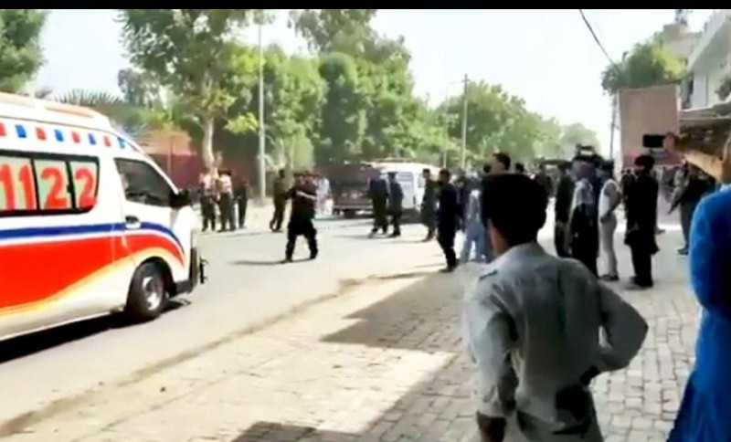 Two Children killed Chinese targeting Convoy in Pakistan's Punjab
