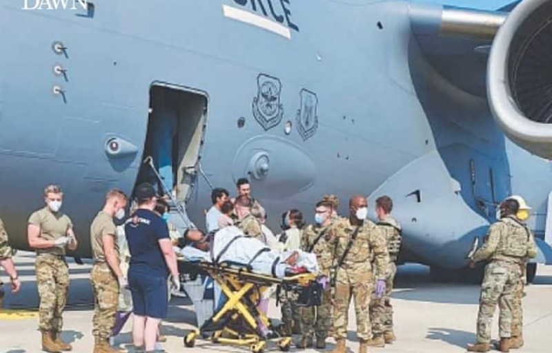 Afghan Woman Gives Birth To Baby Girl On US Military Plane In Germany