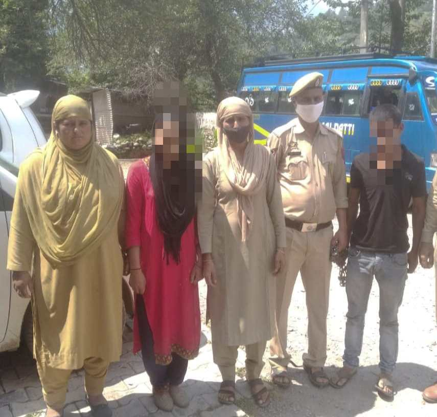 District Police Poonch arrest accused after hectic efforts.