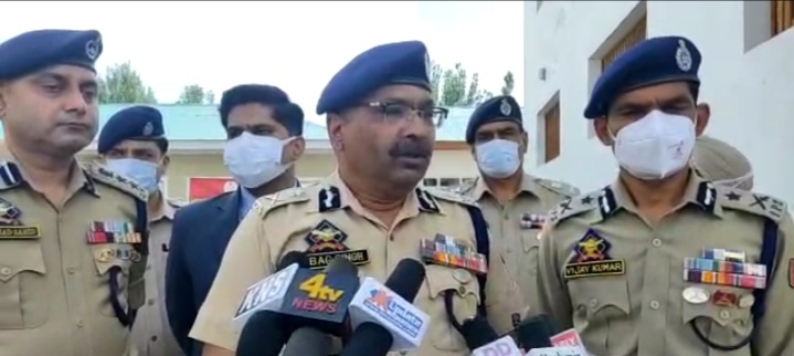 All Over Situation in valley is normal while Miscreants left no Way Behind to Distrupt Peace : DGP Dilbagh Singh.
