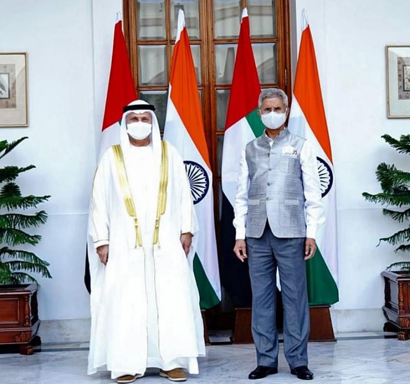 Foreign minister holds talks with UAE president's advisor