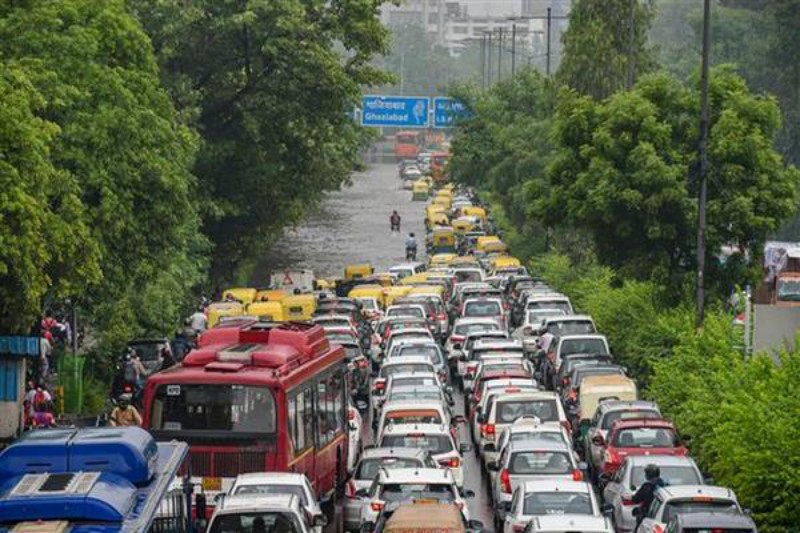 Delhi records highest one-day rain for August in at least 13 years, IMD issues orange alert