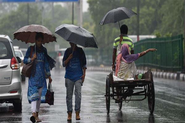 Heavy rains expected in Delhi