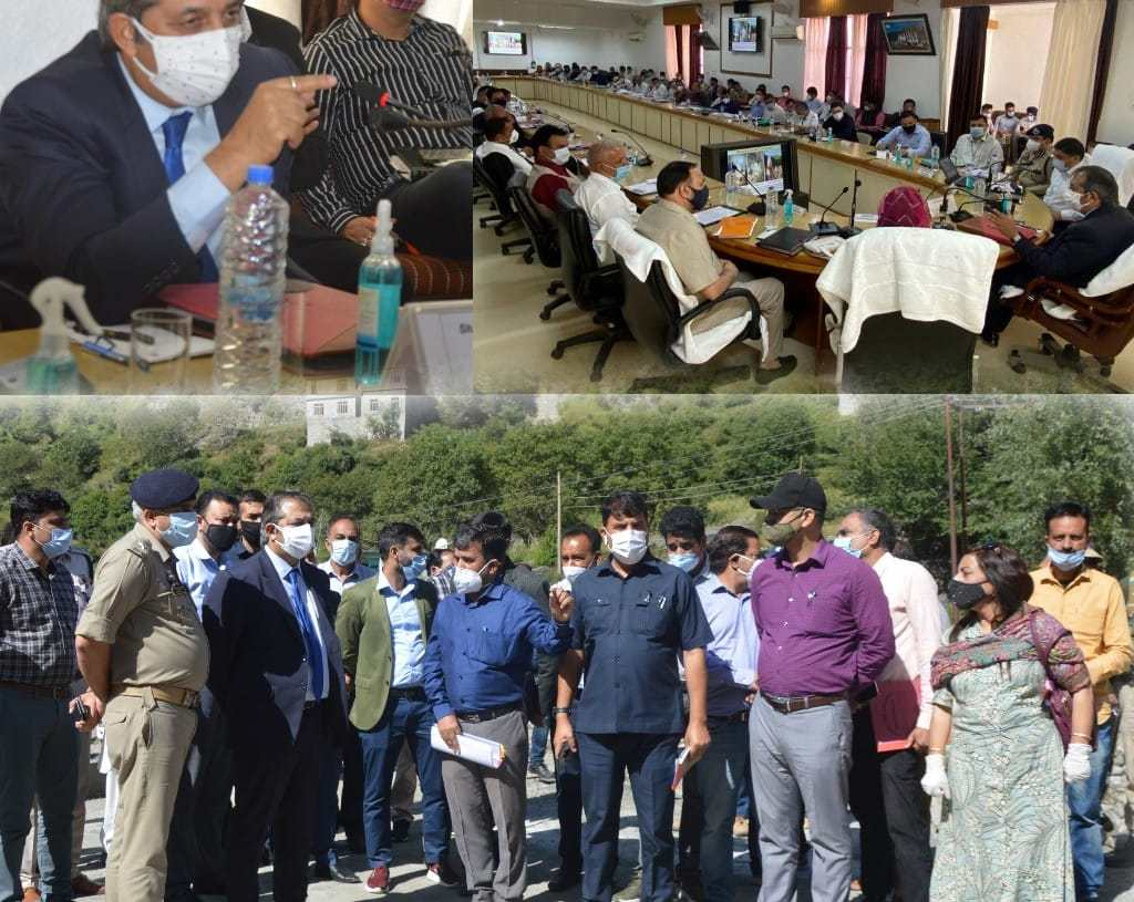 Advisor Baseer Khan visits Poonch; Inspects Development works of RDD, PDD and Tourism Department Interacts with PRIs members, meets delegations