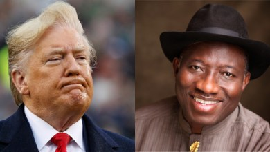 Photo of 'Choose honour over political power,' Jonathan tells Trump