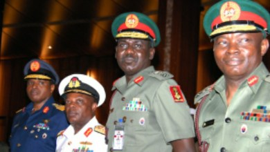 Photo of Buhari names Buratai, other sacked service chiefs, as ambassadors