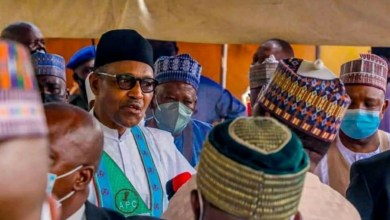 Photo of Wear your mask or get another lockdown, Buhari warns Nigerians