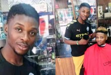 "Photo of Elijah Ode: Student barber arrested in Kano for giving ""un-Islamic"" haircuts"