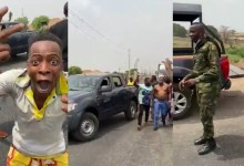 Photo of VIDEO: 40 soldiers, police, DSS officers try to arrest Sunday Igboho