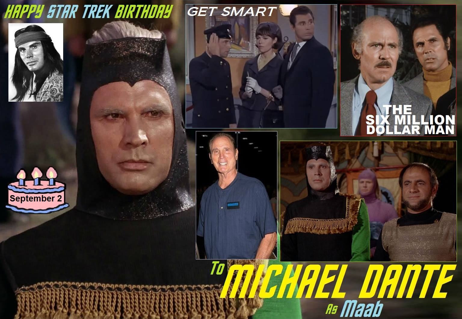 Michael Dante Was Born September 2, 1931.