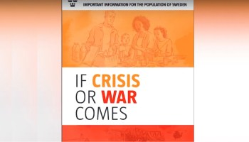Sweden Scares Population with War Pamphlets amid Push to Join NATO