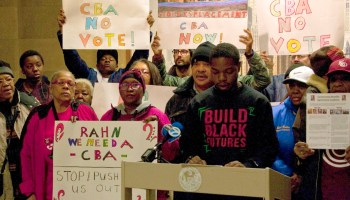Obama the Gentrifier? South Side Residents Resist Presidential Center Plans