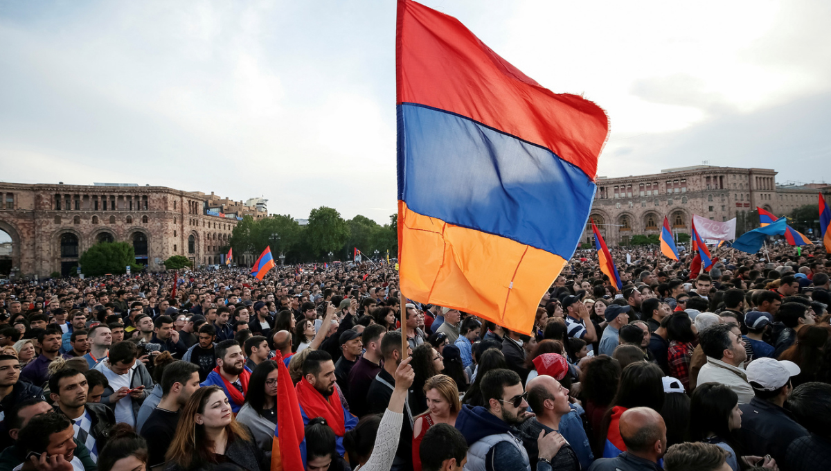 Serj Tankian: Armenia Protests 'Changed the Face of the Country'
