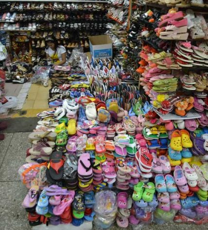 The majority of Cambodia's exports to the European Union (EU), are textiles such as garments and shoes. Credit: Michelle Tolson/IPS