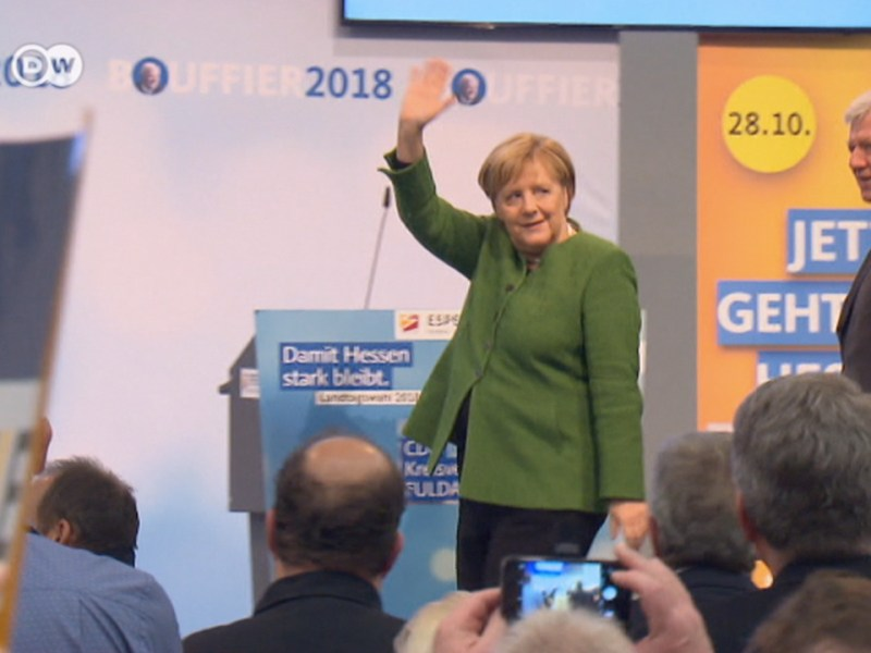 Germany's Angela Merkel Is Bracing for Another Election Disaster