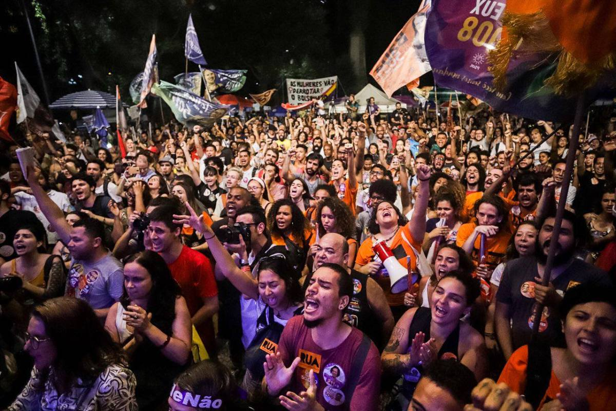 As polls near, people's movements mobilize to beat fascism and Bolsonaro