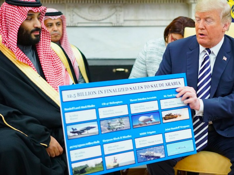 Trump's US-Saudi Arms Deals Will Create Only a Few Hundred Jobs