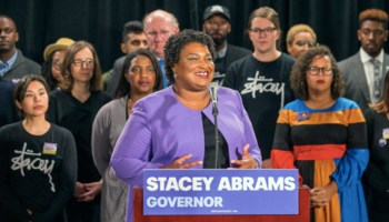 Georgia Gubernatorial Candidate Stacey Abrams Vows to Continue to Fight Voter Suppression