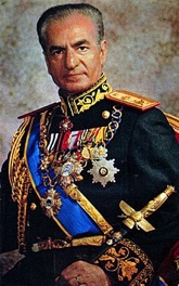 [Mohammad Reza Pahlavi, aka The Shah of Iran, photo Wikipedia]