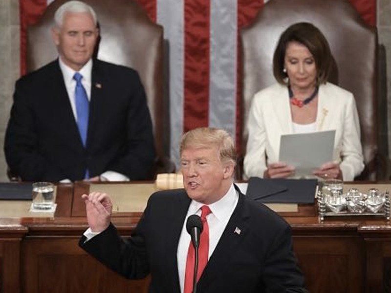 Trump's State of Union Stokes Fear With Nationalist Rhetoric