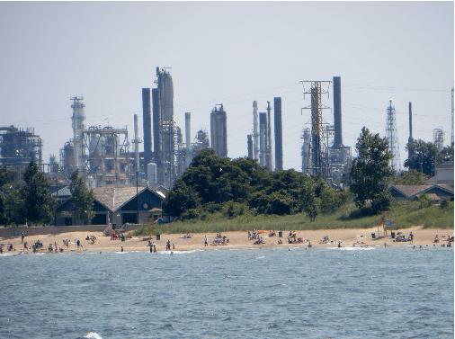 BP Whiting Refinery; Photo Credit: Wikimedia Commons