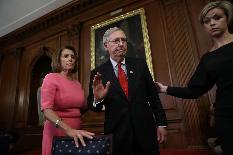 Pelosi and McConnell