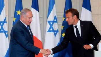 France's Macron Moves to Equate Anti-Semitism with Anti-Zionism