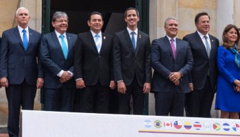 "Trump's ""Coalition of the Willing"" Against Venezuela Has Legitimacy Issues of Their Own"