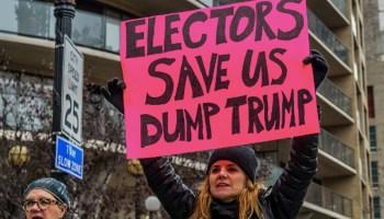 Elizabeth Warren & Activists, Target the Electoral College