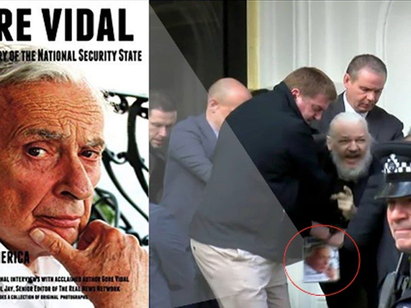 Assange Arrest Sparks Interest in Gore Vidal Book