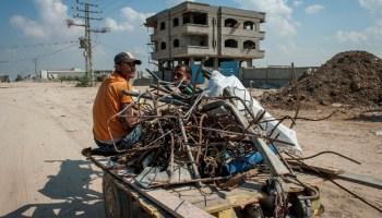 Gaza's Economic Crisis Sends Territory Into Poverty and Chaos