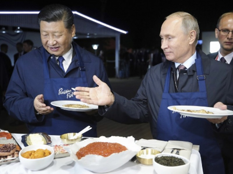 Russia-China Alignment Challenge U.S. Hegemony