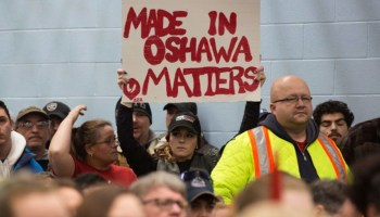 """Oshawa GM Plant Workers """"Collateral Damage"""""""