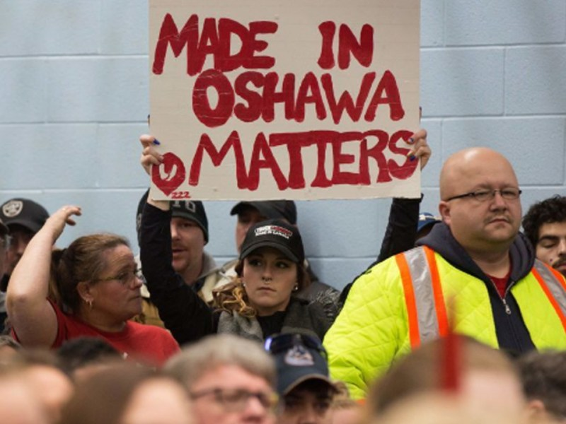 "Oshawa GM Plant Workers ""Collateral Damage"""