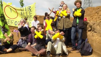 Germany: Fighthing to keep the village
