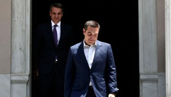 Greece's Syriza Government Loses Election After Imposing Harsh Austerity (1/2)