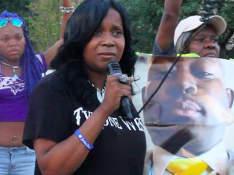 Tawanda Jones Leads Rally on the Sixth Anniversary of Tyrone West's Death