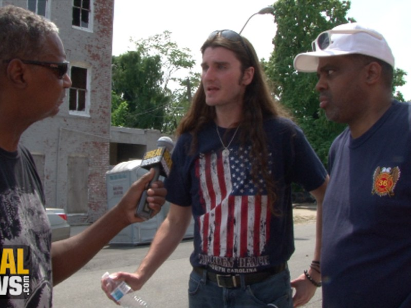 Right-Wing Extremist Scott Presler Organizes Trash Clean Up in West Baltimore