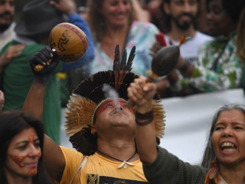 Rainforest on Fire: Brazilians Mobilize Against President's Amazon Policies