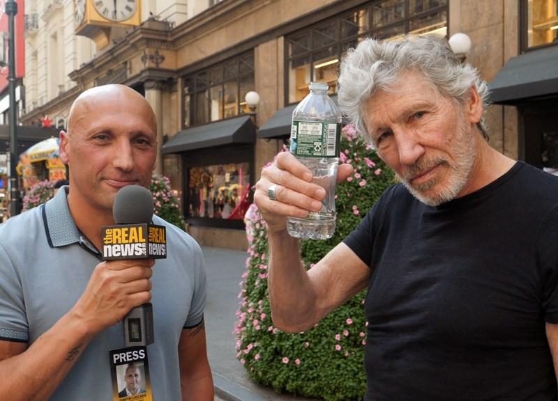 Roger Waters and Dimitri Lascaris
