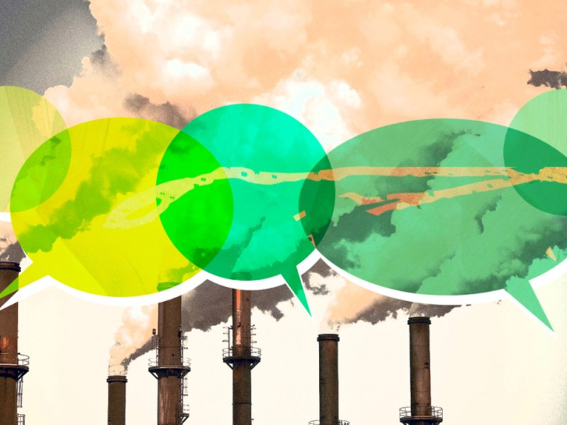 Fossil fuel companies roll out a new era of spin