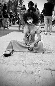 Young_Blackwoman_at_Protests