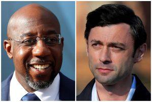 Senate candidates Raphael Warnock and Jon Ossoff