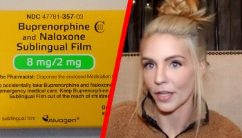 Left: Buprenorphine; Right: Dawn Williams