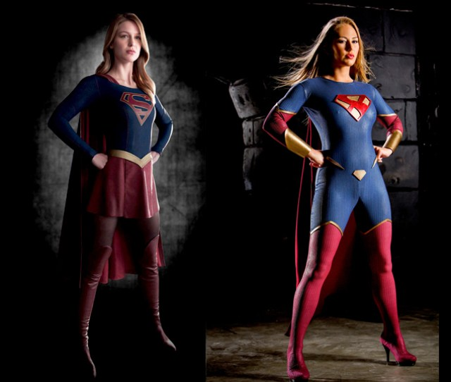 Whos The Better Supergirl Tvs Melissa Benoist Or Porns Carter Cruise