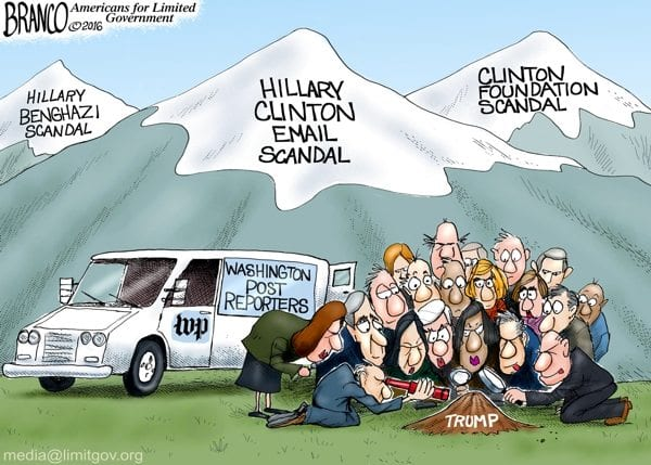 Image result for cartoons 2016 hillary and trump