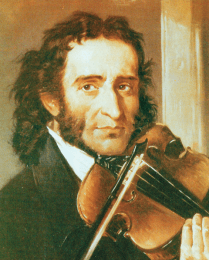 Paganini and his violin