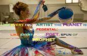planet is my pedestal