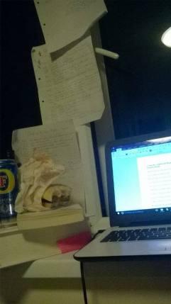 Working the night away